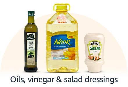 Oils, Vinegar & Salad Dressings