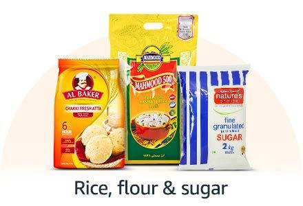 Rice, Flour & Sugar