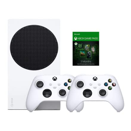 Xbox Series S with 2 controllers and Game Pass