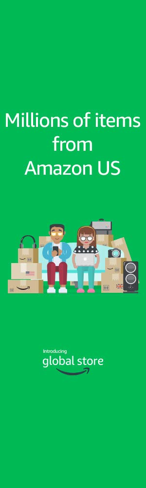 Millions of items from Amazon US