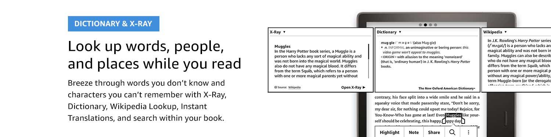 Dictionary & X-ray