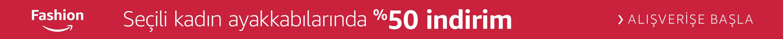 Seçili Kadın Ayakkabılarında %50 indirim
