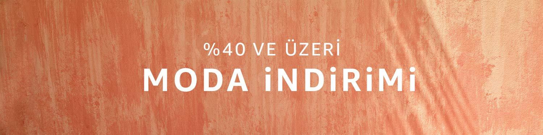 %40 ve üzeri moda indirimi