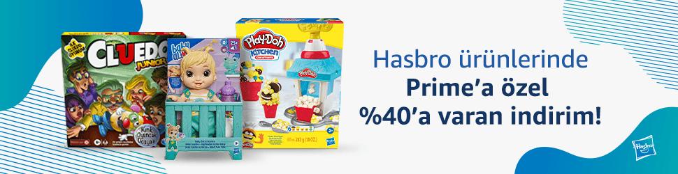 Hasbro ürünlerinde Prime'a özel %40'a varan indirim