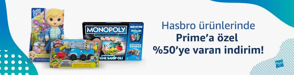 Hasbro ürünlerinde Prime'a özel %50'ye varan indirim