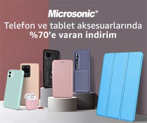 Microsonic Telefon Ve Tablet Aksesuarlarında %70'e Varan İndirim