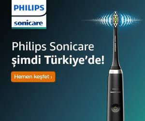 Philips Sonicare şimdi Türkiye'de!
