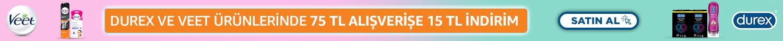 BAKIM21 kodu ile Durex,Veet ve Scholl kişisel bakım ürünlerinde 75 TL alışverişe 15 TL hediye