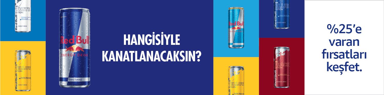 Red Bull ürünlerini keşfet