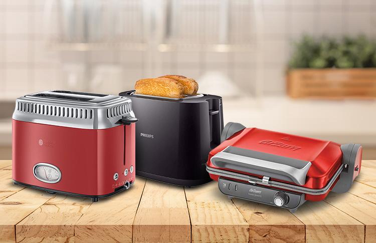 Tost ve ekmek kızartma makineleri