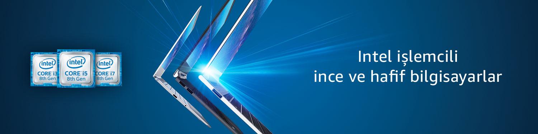 Intel işlemcili ince ve hafif bilgisayarlar