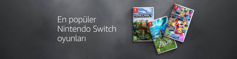 En popüler Nintendo Switch Oyunları