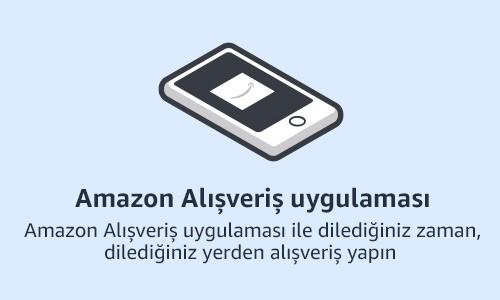 Amazon alışveriş uygulaması