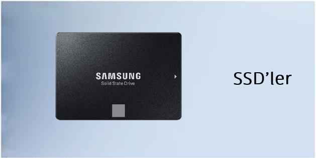SSD'ler