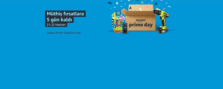 Prime Day'e 5 gün kaldı