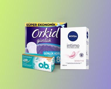 Kadın hijyen ürünleri