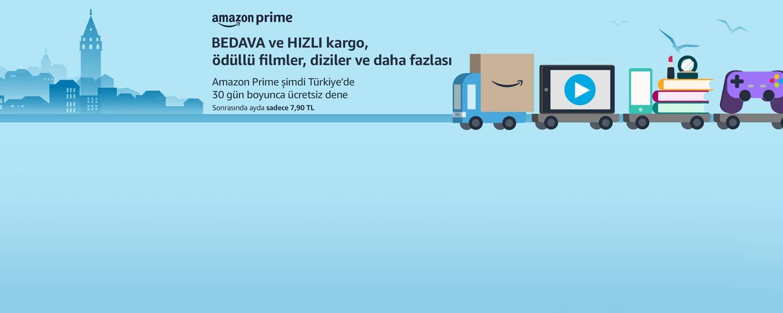 Amazon Prime şimdi Türkiye'de 30 gün boyunca ücretsiz dene