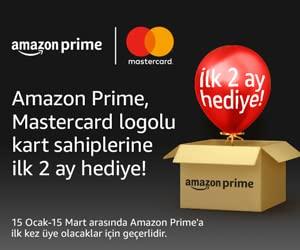 Mastercard x Prime kampanyası