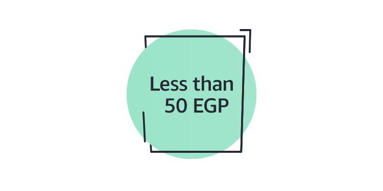 Less than 50