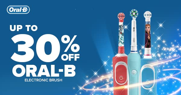 Up to 30% off Oral-B