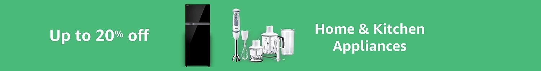 Appliances 20% off