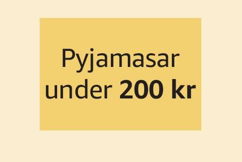 Pyjamasar under 200 kr