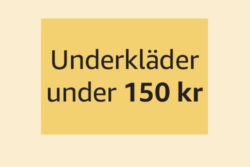 Underkläder under 150 kr