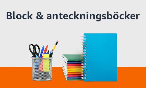 Block & anteckningsböcker
