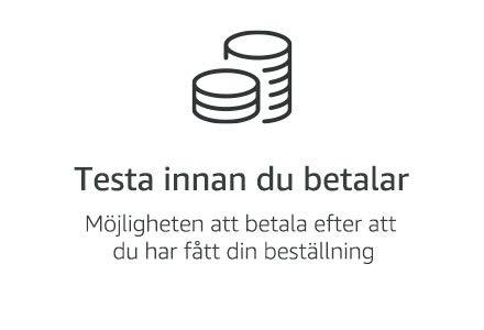 Testa innan du betalar
