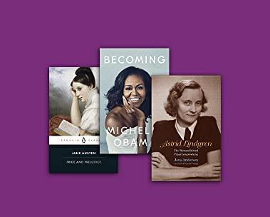 Internationella kvinnodagen - kvinnliga författare