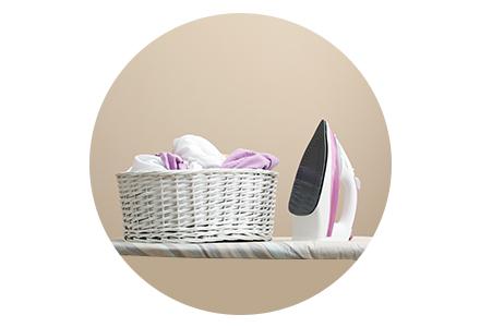 Tvätt & strykning