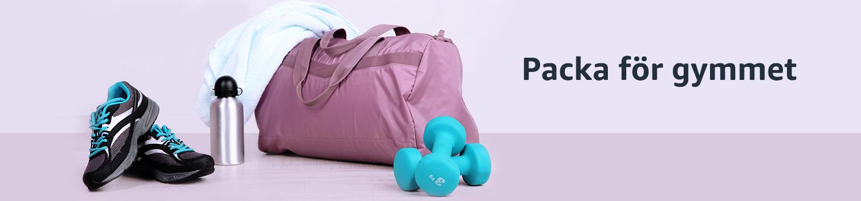 Packa för gymmet