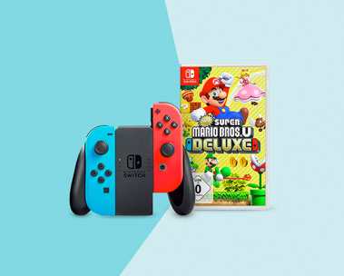 Nintendo Switch konsoler & spel