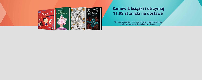 Zamów 2 książki i skorzystaj z darmowej dostawy