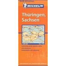 Michelin Karten, Bl.544 : Deutschland Mitte-Ost (Michelin Regional Maps)