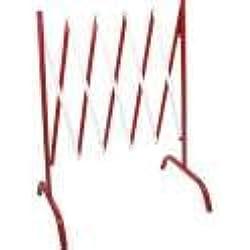 Barrière de chantier extensible droite - Rouge/Blanc - 8000257