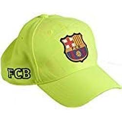 GORRA FC.BARCELONA AMARILLA ADULTO