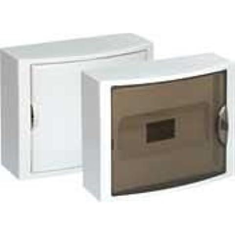 Solera 5021 - Caja para distribución. De 362x250x104. Hasta 14 elementos. Color blanco. Superficie.