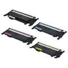 PACK 4 toners Compatible CLT-K4072S,CLT-C4072S ,CLT-M4072S ,CLT-Y4072S pour Samsung CLP-320/N, CLP-325/N/W ,CLX-3185/N/FN/FW - Yelow - 1000 pages