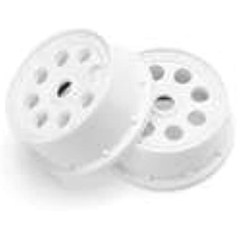 Outlaw Wheel, White (2) 4mm Offset: Baja 5T by HPI Racing - 4 Mm Tiger