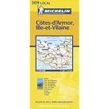 Carte routière : Côtes-d'Armor - Ille-et-Vilaine, N° 11309