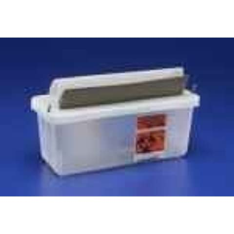 Kendall Sharps Container 1/2 Gallon Clear - Model 85021 by Kendall