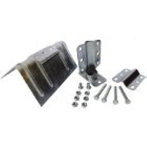 Metronic - Detector de WIFI y cámaras ocultas (acero galvanizado, 50 mm, D25)