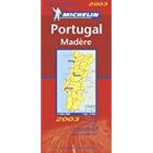 Michelin Portugal Map No. 733(940) (Cartes Nationales)