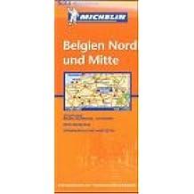 Belgien Nord und Mitte (Michelin Regionalkarte)