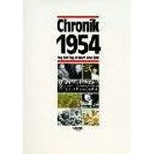 Chronik, Chronik 1954
