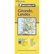 Carte routière : Gironde - Landes, N° 11335