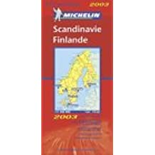 Carte routière : Scandinavie - Finlande, N° 11711