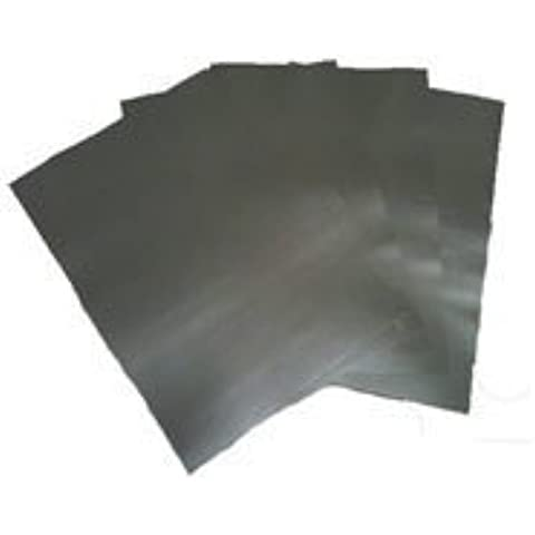 Laser & Copiador Imprimible Plata Adhesivo Vinilo Película, Papel Liberación 80 Micras, 10 A4 Hojas