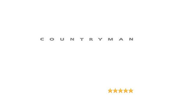 Original Mini Emblem Schriftzug Logo Countryman Für Mini Countryman F60 Auto
